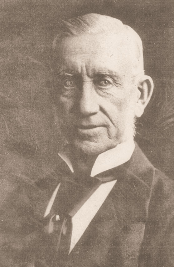 William Gosse, the first president of the SA Branch of the BMA . 1879 - 1880